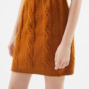Urban Outfitters Cable knit mini skirt